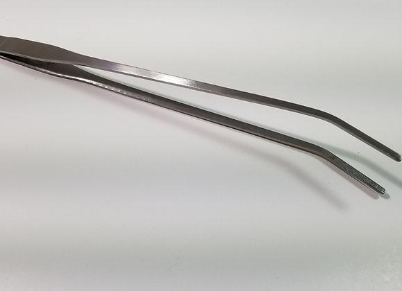 SS Angled Tip Tweezers