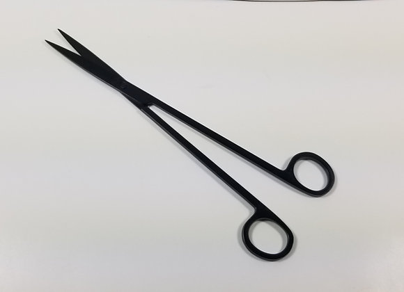 Black SS Straight Scissors