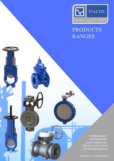 products range IVALTEC