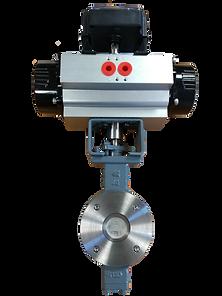 Ivaltec butterfly valve BV02 steam application