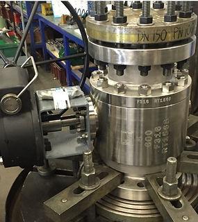 Ivaltec ball valve VB22 chemical reactor application