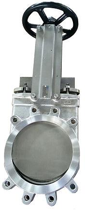 Ivaltec knife gate valve KG01 all stainless steel FDA food application