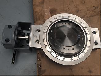 Ivaltec triple offset butterfly valve BV03 UB6 chemical application