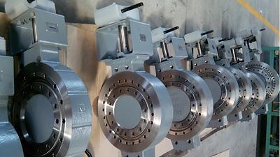 Ivaltec BV03 triple offset butterfly valve steam application