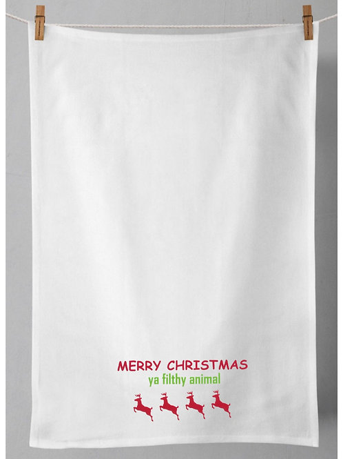 Christmas Tea Towel - Home Alone