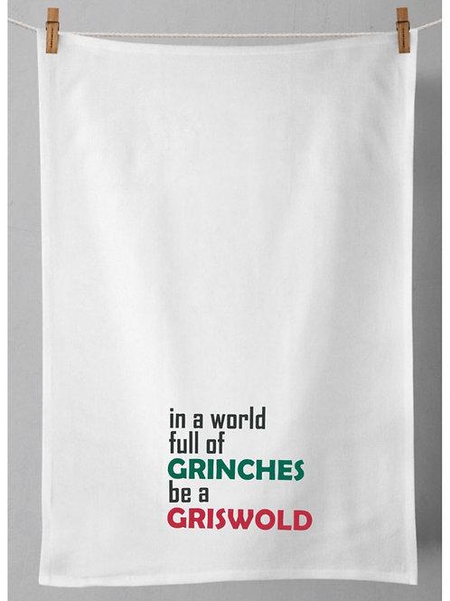 Grinch Tea Towel