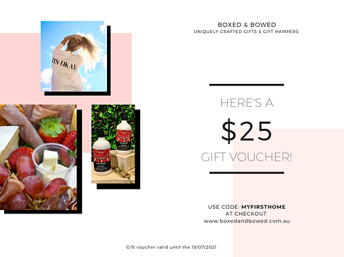 Gift Voucher - Boxed & Bowed