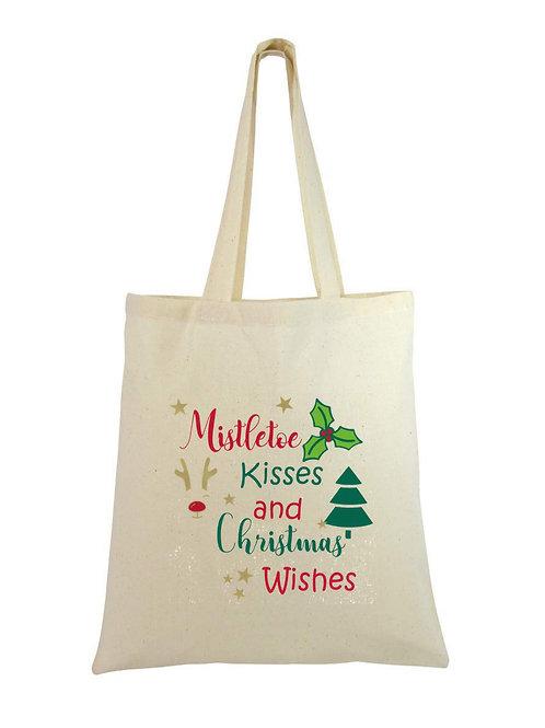 Sustainable Christmas Tote Bag