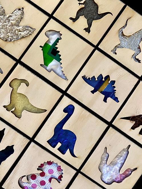 Dinosaur Sensory Cards