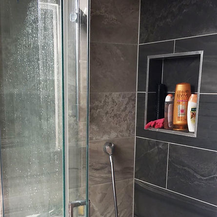 Bathroom, wet room tiling Watford