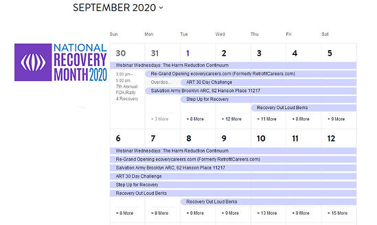 Calendar img Events Archive - RecoveryMo