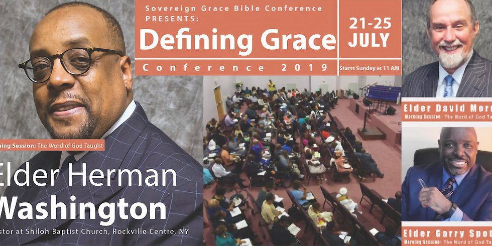 2019 Sovereign Grace Bible Conference