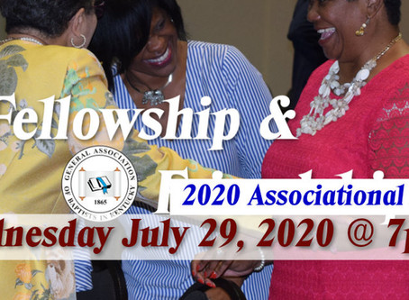 GABKY's First Virtual Associational Event Wednesday Night July 29, 2020 at 7:00 p.m.