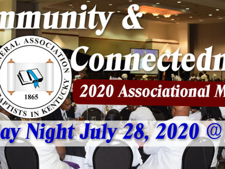 GABKY's First Virtual Associational Event Tuesday July 28, 2020 at 7:00 p.m.
