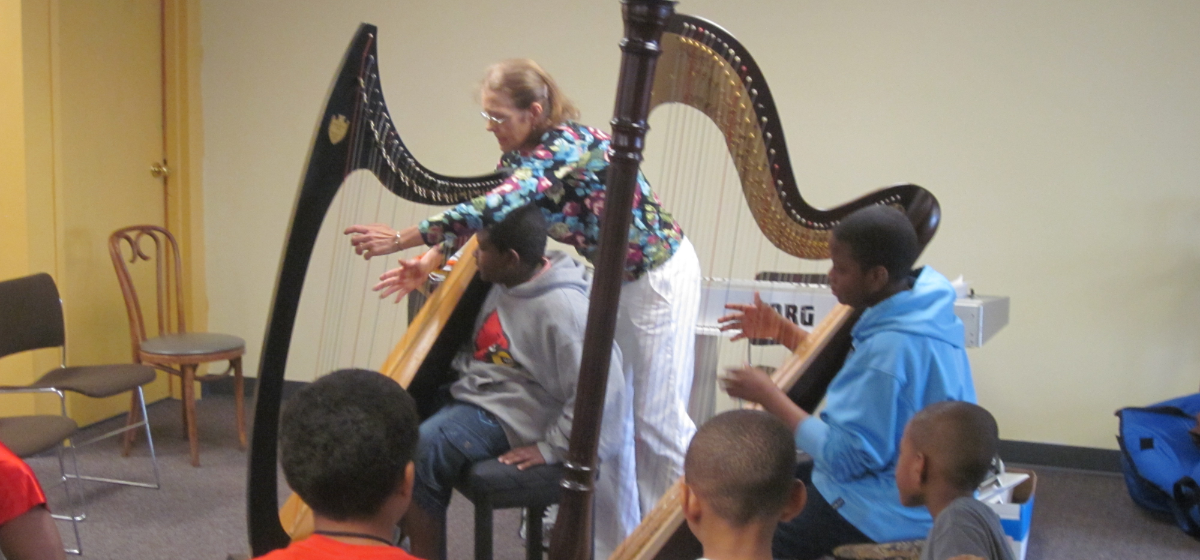 Harp Instruction West Louisville Perform