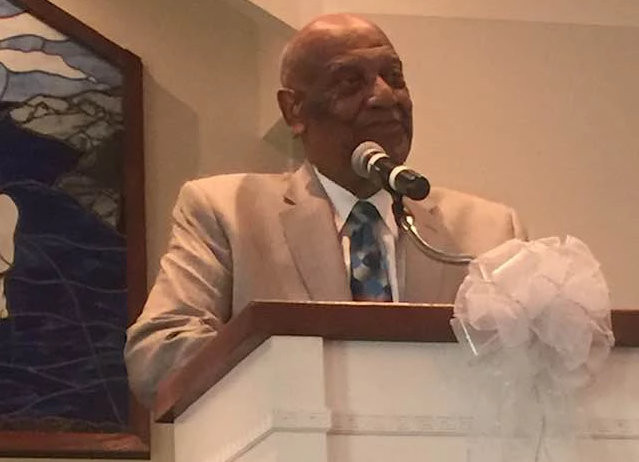 The late Rev. Thurman Coleman, Sr. pictured