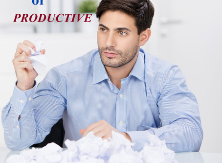 Be Productive Not Just Busy!