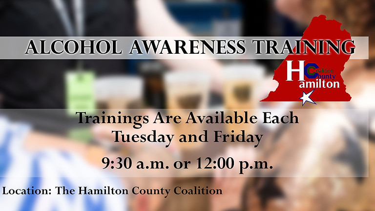 A.M. Alcohol Awareness Training (Beer Board Approved)