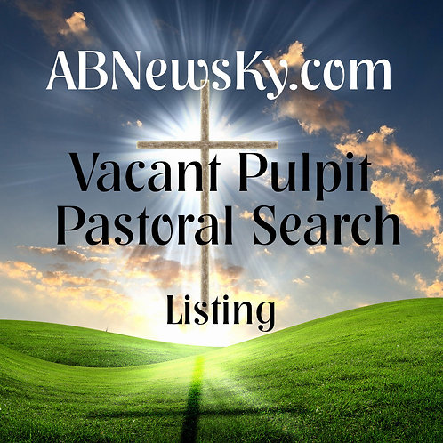 Pastoral Search | Open Pulpit Listing