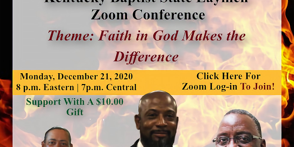 Kentucky Baptist State Laymen Zoom Conference