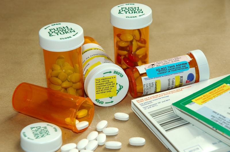 prescription medications that could fall into a child's hands