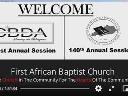 2021 CBDEC 140th Annual Session Worship Event
