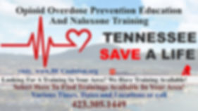 Save A Life Training, Various Trainings