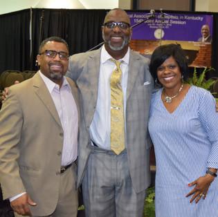 Moderator Crayton & Rev. & Dr. Sayles