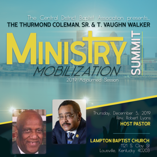 T. Vaughn Walker and Thurmond Coleman Ministry Mobilization Summit Day