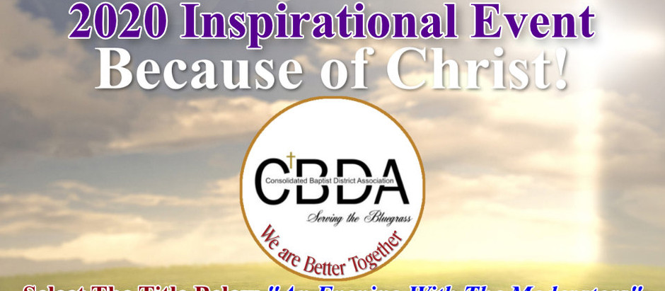 2020 CBDA Inspirational Evening With The Moderators