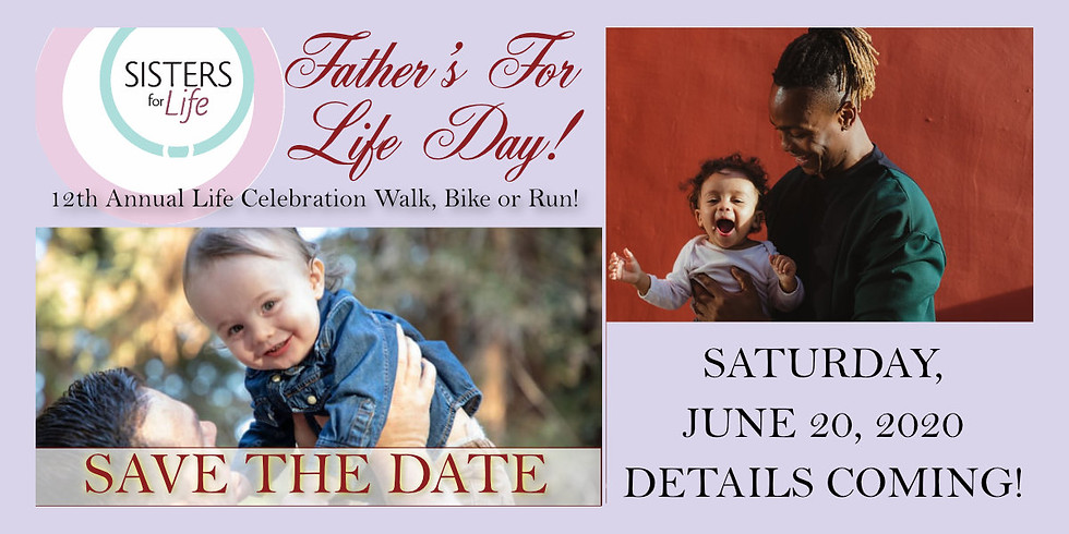 Register for SFL's 12th Annual Father's Day Walk, Bike, or Run