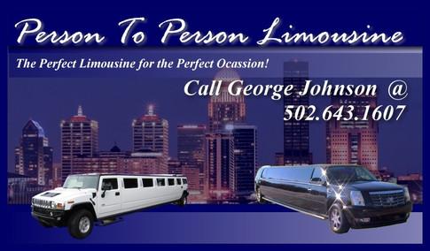 Limousine Compay Business Card