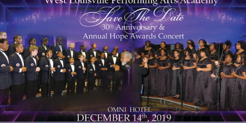 WLPAA 30th Year Anniversary & Hope Awards Concert