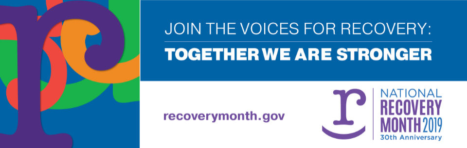 National Recovery Month New Logo Image