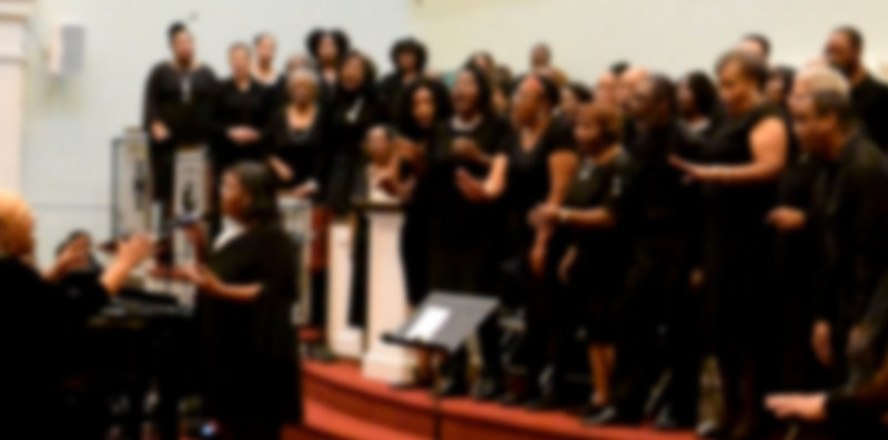 African American Choir Singing