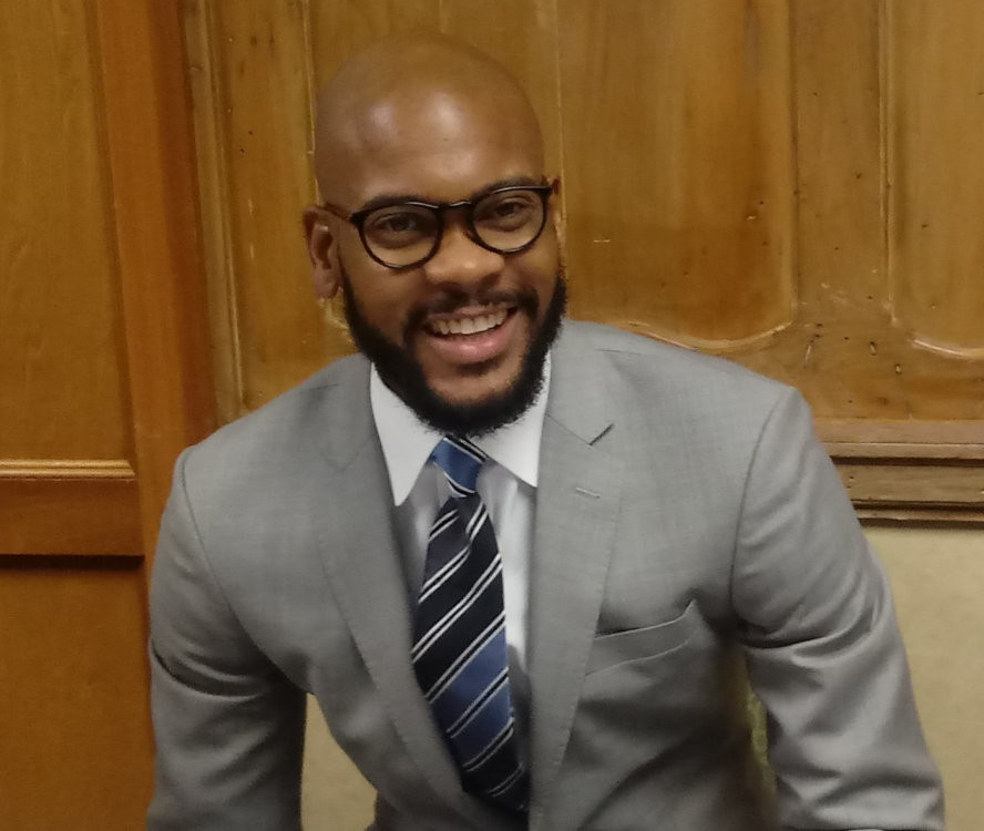 Rev. Corrie Shull, CDBA Ky Moderator and Pastor of Burnett Avenue Baptist Church of Louisville, KY