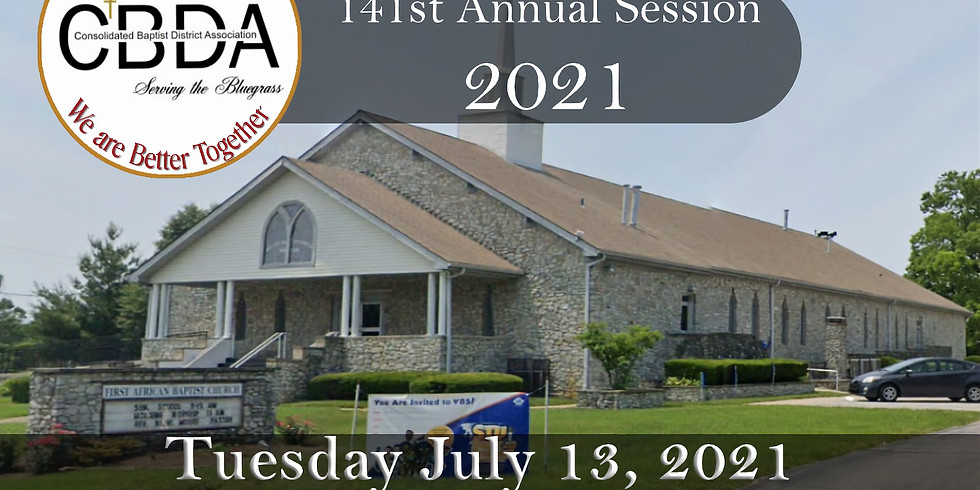 141st CBDA Annual Session