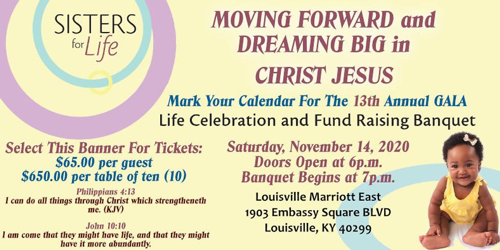 Sisters For Life - Life Celebration & Fund Raising Gala