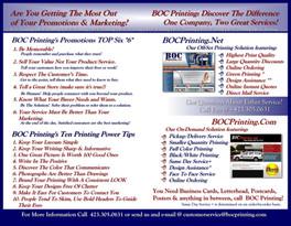 Print Shop Brochure