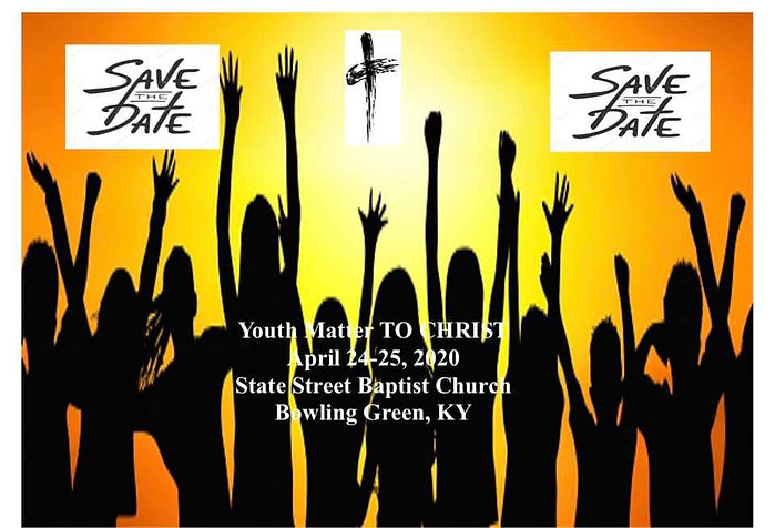 youth Matters to Christ Flyer Save The D