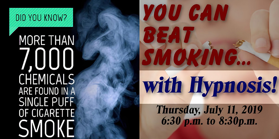 You Can Beat Smoking with Hypnotherapy