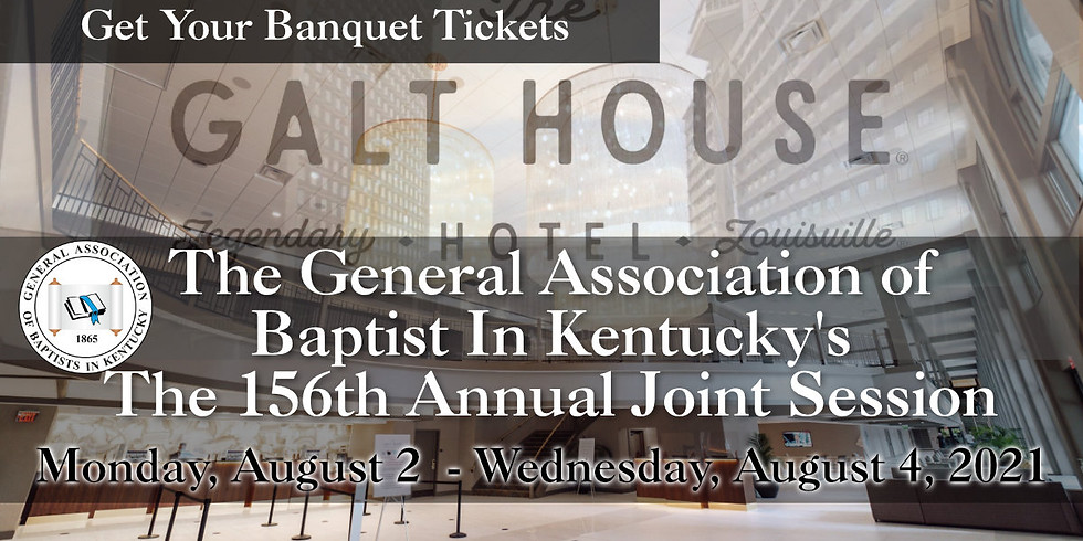 156th Annual GABKY Joint Session Banquet