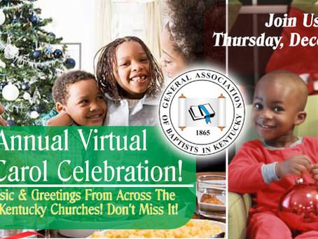 The 1st Annual Virtual Christmas Carol Celebration