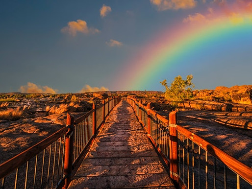 Over the Rainbow: Honoring My Late Mother