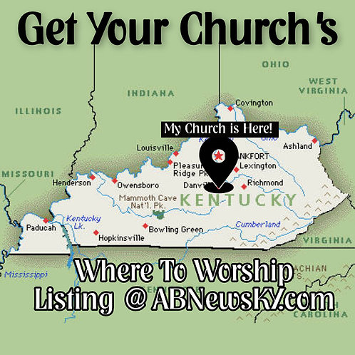 Where To Worship Listing Annual (Enhanced)