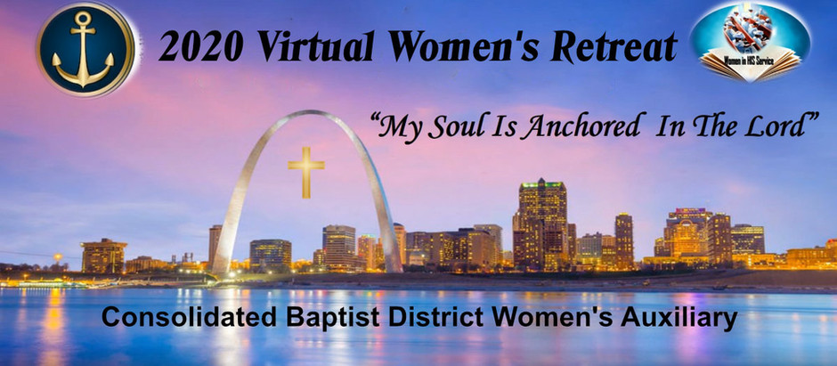 CBDWA 2020 Women's Virtual Retreat Friday, June 19, 2020 at 7:00 p.m.