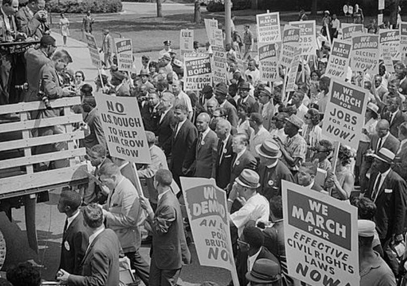 1960's Civil Rights Era March image