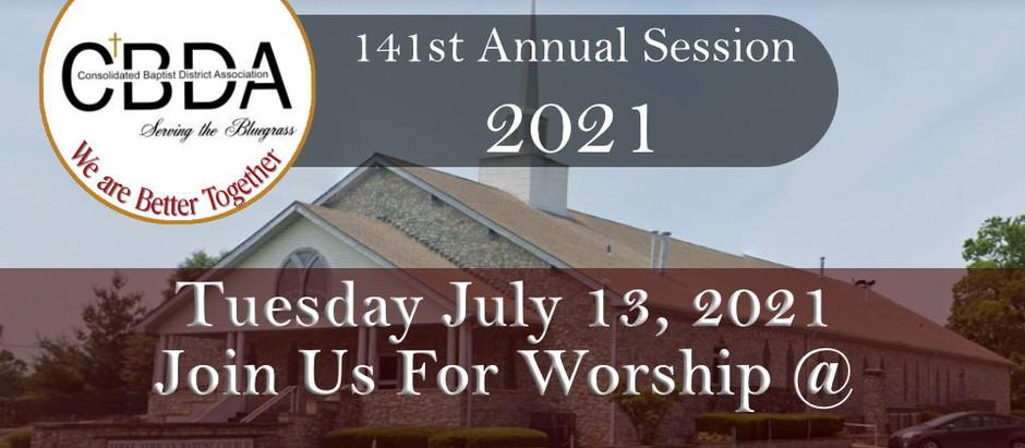CBDA 141st Annual Session Worship Event