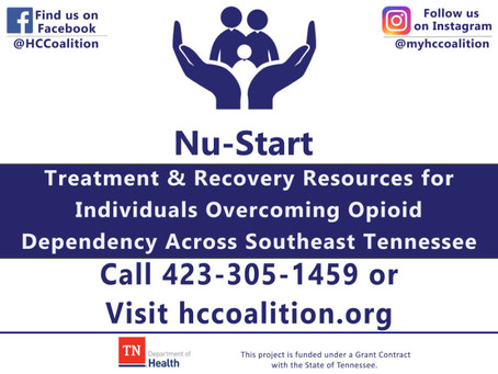 Hamilton County Coalition's Nu-Start Program Expands To All 10 Counties in Region III South!