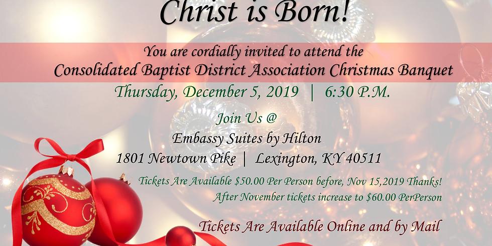 CBDA Christmas Banquet 2019